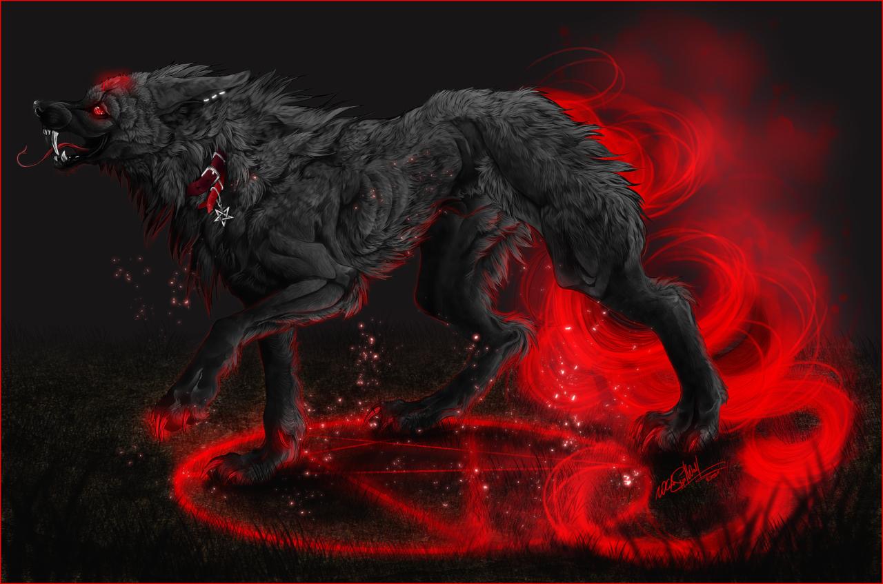 Female evil demon wolf erotic pics